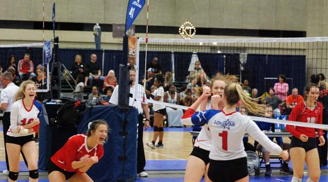 Prep Volleyball Article:  LoneStar Finds A Way at LSC